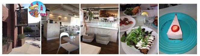 Das Café Gratitude in Venice Beach bietet ausschließlich Vegane Küche an, die mehr als köstlich ist.