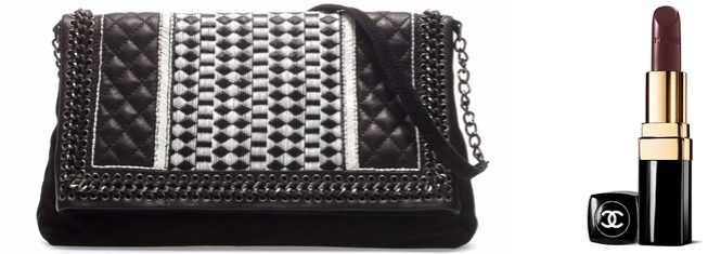 Zara Bag aus der aktuellen Kollektion & Rouge Noir Lippenstift von Chanel