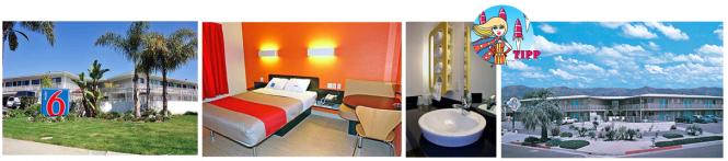 Das älteste Motel 6 steht in Santa Barbara. Heute sehen die Zimmer aber nicht mehr wie in den 60 Jahren aus.