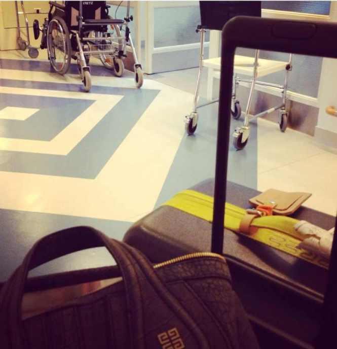 Krankenhaus check-in